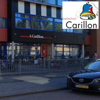 Portfolio Webburo Spring: Website voor Basisschool 't Carillon