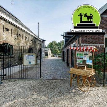 Portfolio Webburo Spring: Website voor Kinderboerderij Gouda