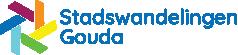 Logo van Stadswandelingen Gouda door Webburo Spring