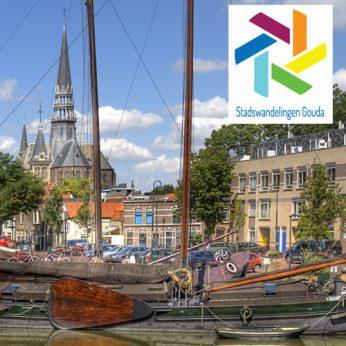 Portfolio Webburo Spring: Prachtige nieuwe website voor Stadswandelingen Gouda