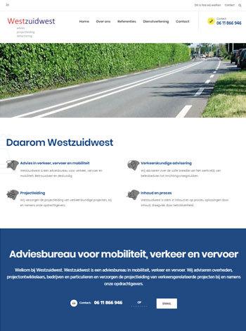 Westzuidwest portfolio webburo spring verticaal1