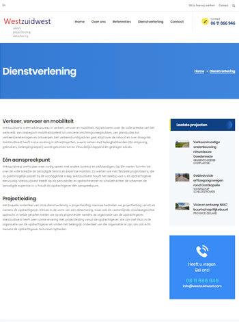Westzuidwest portfolio webburo spring verticaal2