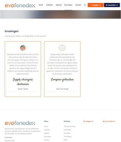 Supplychain samenwerking evofenedex portfolio webburo spring verticaal