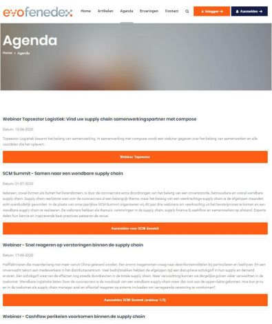 Supplychain samenwerking evofenedex portfolio webburo spring verticaal2