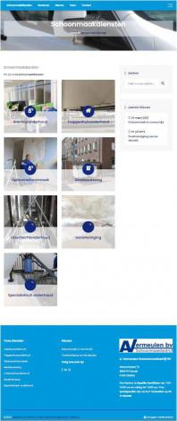 A vermeulen schoonmaak bv portfolio webburo spring verticaal 1
