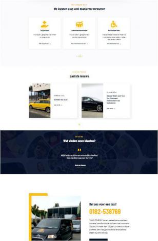 Taxi one portfolio webburo spring verticaal 2