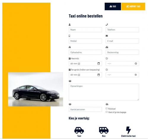 Taxi one portfolio webburo spring verticaal 1
