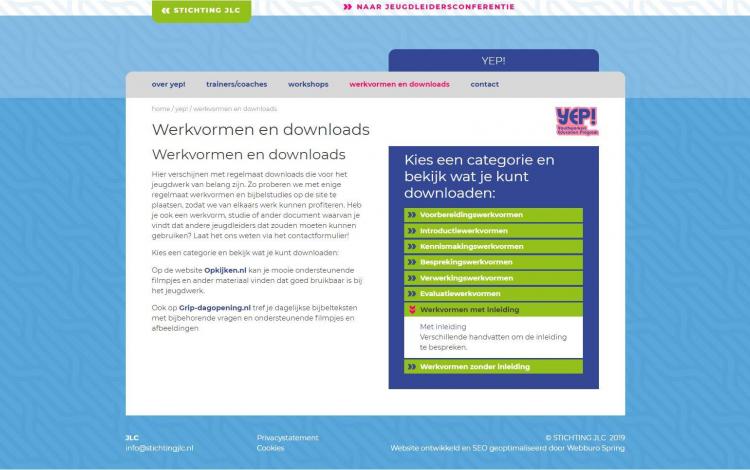 Stichting JLC portfolio webburo spring horizontaal 1