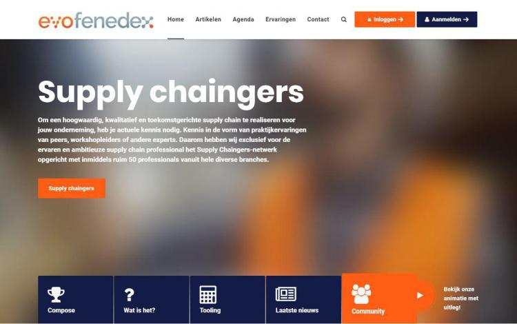 Supplychain samenwerking evofenedex portfolio webburo spring horizontaal