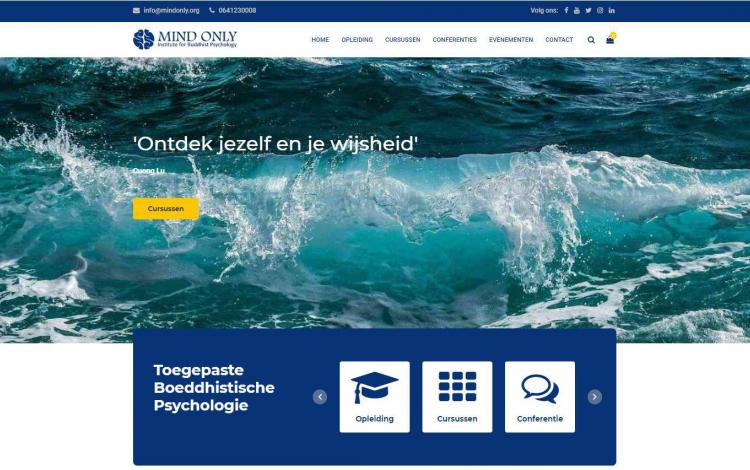 Mindonly buddhist psychology portfolio webburo spring horizontaal