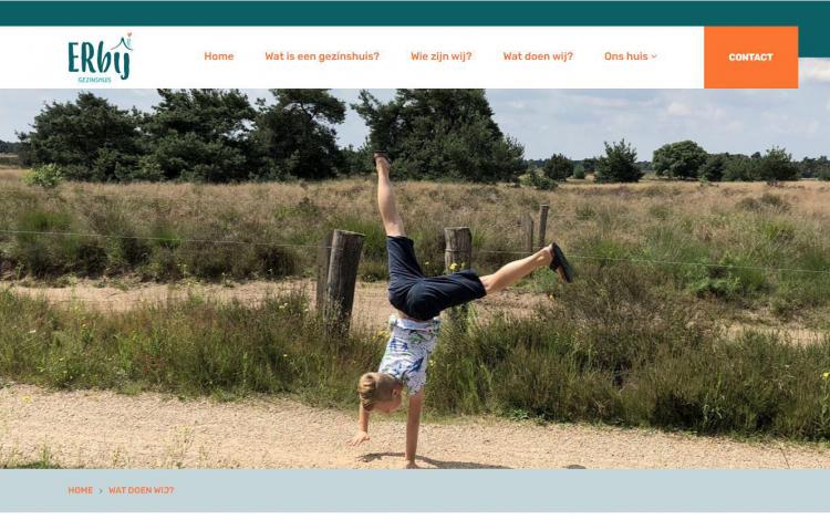 Gezinshuis erbij portfolio webburo spring horizontaal 2