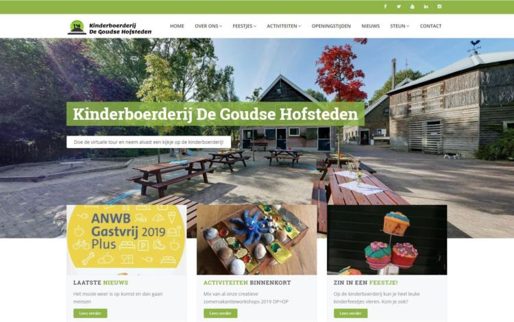 Kinderboerderij gouda portfolio webburo spring horizontaal1